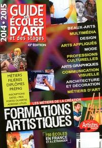 Dominique Bosch - Guide des écoles d'art et des stages 2014-2015.