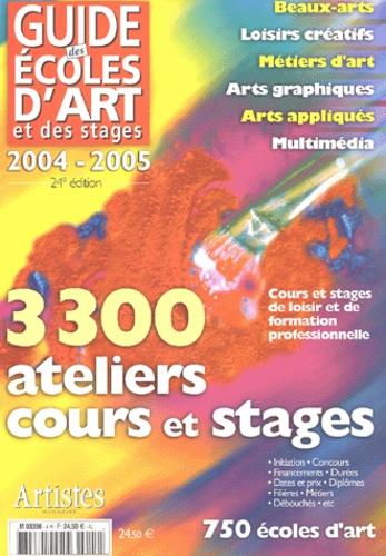 Grand Palais Editions - Guide des écoles d'art et des stages.