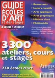 Grand Palais Editions - Guides des écoles d'art et des stages.