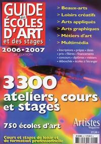 Grand Palais Editions - Guides des écoles d'art et des stages.