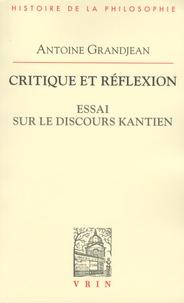 Critique et réflexion - Essai sur le discours kantien.pdf