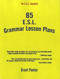 Grant Panter - 85 ESL Grammar Lesson Plans.
