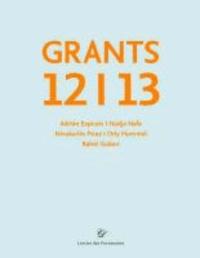 Grants 12/13 - Stipendiaten 2012/13 Lepsien Art Foundation.