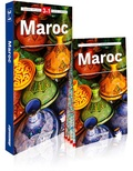 Grazyna Hanaf et Anna Krol - Maroc - Guide + Atlas + Carte routière 1/1 500 000. 1 Plan détachable