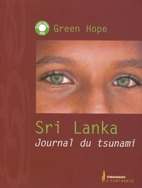 Green Hope - Sri Lanka - Journal du tsunami.