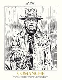 Greg et  Hermann - Comanche L'intégrale Tome 1 : Red Dust ; Les guerriers du désespoir ; Le prisonnier ; Souviens-toi, Kentucky... ; Les loups du Wyoming ; Le ciel est rouge sur Laramie ; Le désert sans lumière - Avec un ex-libris.