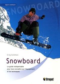 Greg Goldman - Snowboard.