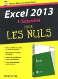 Greg Harvey - Excel 2013 L'essentiel pour les Nuls.