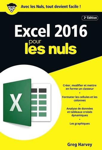 Excel 2016 pour les Nuls 2e édition