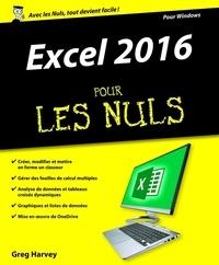 Meilleur livre gratuit à télécharger Excel 2016 pour les nuls 9782754082167 par Greg Harvey MOBI FB2 DJVU