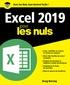 Greg Harvey - Excel 2019 pour les nuls.