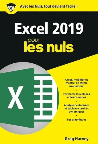 Excel 2019 Pour Les Nuls Poche