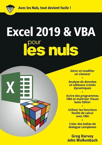 Excel 2019 & VBApour les nuls
