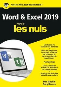 Greg Harvey et Dan Gookin - Word et Excel 2019 pour les Nuls.