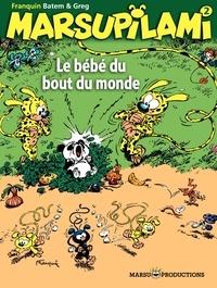 Greg et  Batem - Marsupilami Tome 2 : Le bébé du bout du monde.