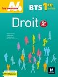 Grégoire Arnaud et Laurent Izard - Droit BTS 1re année.