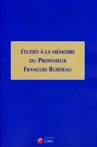 Grégoire Bigot - Etudes à la mémoire du professeur François Burdeau.