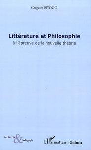 Grégoire Biyogo - Littérature et Philosophie à l'épreuve de la nouvelle théorie - L'amitié impossible d'Orphée et de l'Oiseau de Minerve.