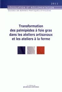 Grégoire Cordier - Transformation des palmipèdes à foie gras dans les ateliers artisanaux et les ateliers à la ferme.