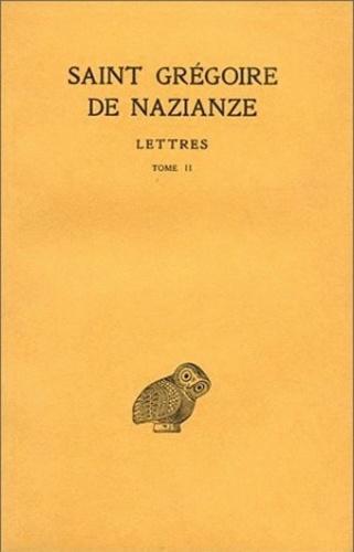 Grégoire de Nazianze - Correspondance - Tome 2, Lettres 103-144.