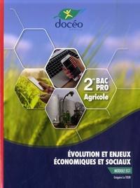 Grégoire La Tour - Evolution et enjeux économiques et sociaux Module EG1 2de Bac Pro Agricole.