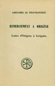 Grégoire le Thaumaturge et Henri Crouzel - .