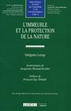 Grégoire Leray - L'immeuble et la protection de la nature.