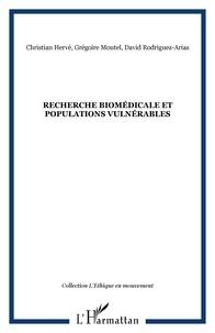 Grégoire Moutel et David Rodríguez-Arias - Recherche biomédicale et populations vulnérables.