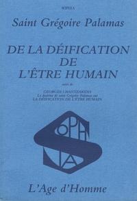 Accentsonline.fr De la déification de l'être humain Image
