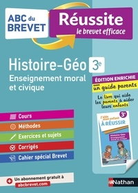 Grégoire Pralon et Laure Genet - ABC BREVET REU  : ABC du Brevet Réussite Famille - Histoire-Géographie-EMC 3e.
