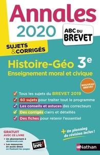 Grégoire Pralon et Laure Genet - Histoire-Géographie, Enseignement Moral et Civique 3e - Sujets & Corrigés.