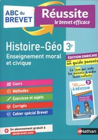 Grégoire Pralon et Laure Genet - Histoire-Géographie, Enseignement moral et civique 3e - Avec un guide parents.