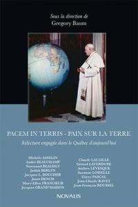 Feriasdhiver.fr Pacem in terris - Relecture engagée dans le Québec d'aujourd'hui Image