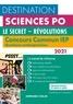 Grégory Bozonnet et Pascal Bernard - Destination Sciences Po - Concours commun IEP 2021 - Le secret - Révolutions.