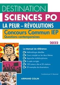 Grégory Bozonnet et Pascal Bernard - Destination Sciences Po Questions contemporaines 2022 - Concours commun IEP.