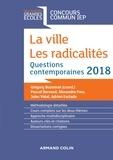 Grégory Bozonnet - La ville, Les radicalités - Questions contemporaines.