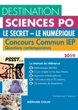 Grégory Bozonnet - Le secret - Le numérique - Concours commun IEP Questions contemporaines.