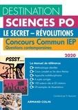 Grégory Bozonnet - Le secret - Révolutions - Concours commun IEP questions contemporaines.