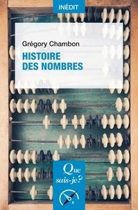 Grégory Chambon - Histoire des nombres.