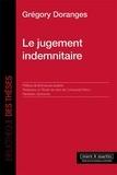 Grégory Doranges - Le jugement indemnitaire.