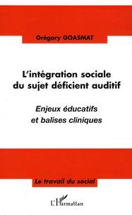 Deedr.fr L'intégration sociale du sujet déficient auditif - Enjeux éducatifs et balises cliniques Image