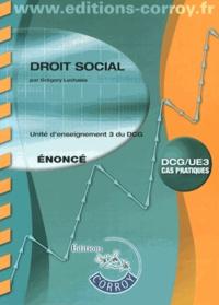 Droit social UE 3 du DCG - Enoncé.pdf