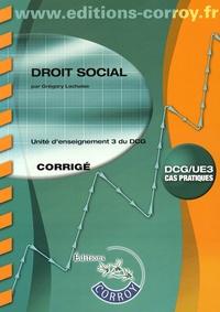 Histoiresdenlire.be Droit social UE 3 du DCG - Corrigé Image