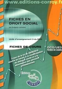 Galabria.be Droit social UE 3 du DCG - Fiches Image