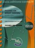 Grégory Lachaise - Fiches en droit social UE 3 du DCG.