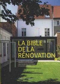 Gregory Mees et Frank Berckmans - La bible de la rénovation - Volume 2.