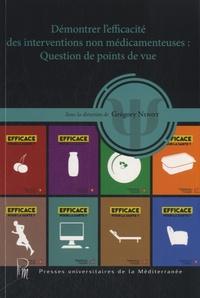 Grégory Ninot - Démontrer l'efficacité des interventions non médicamenteuses - Question de points de vue.