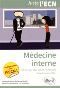 Grégory Pugnet et Guillaume Moulis - Médecine interne.