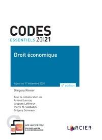 Grégory Renier - Droit économique.