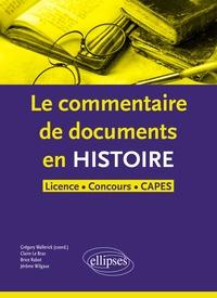 Cjtaboo.be Le commentaire de document en histoire Licence, Concours, CAPES Image